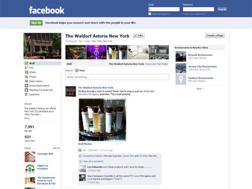 The Waldorf=Astora on Facebook